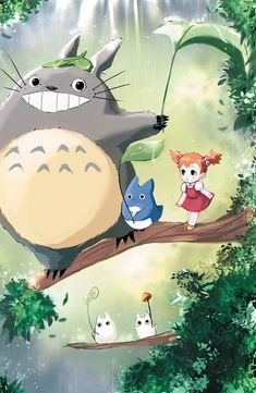 [F] Totoro by Lavender-Iced on DeviantArt