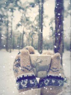snowy winter, snowing in Alaska again, mittens, reindeer mug, wintertime. Winter is by far my favorite time of year. Winter Szenen, I Love Winter, Winter Magic, Winter Is Coming, Winter Season, Hello Winter, Winter Socks, Winter Months, Winter Nails