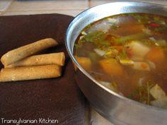 Transylvanian Kitchen: Supă de fasole verde - varianta light