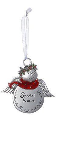 Christmas Snowmen Ornaments - Special Nurse