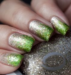Orly Halo and Butter London Swinger - It's A Glitter Bomb! | A Polish Addict