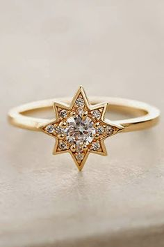 Star ring with sparks.