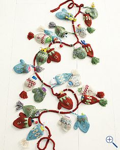 Hats & Mittens Advent Calendar from Garnet Hill.  Quite cute.