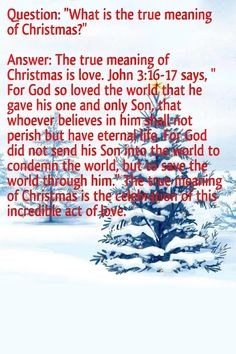 true meaning of Christmas | Holiday Crafts & Gifts | Pinterest ...