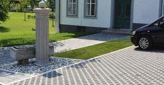 Semmelrock gyeprácskő Semmelrock beton gyeprács Sidewalk, Patio, Outdoor Decor, Home Decor, Decoration Home, Terrace, Room Decor, Side Walkway, Porch