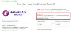 25% more HawaiianMiles when you transfer Membership Rewards points - http://www.mightytravels.com/2016/06/25-more-hawaiianmiles-when-you-transfer-membership-rewards-points/