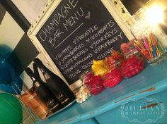 DIY Champagne Party