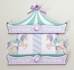 Carousel Invitations  /carousel  theme party / by JillyBearDesigns