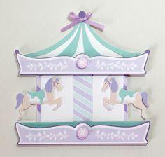 Carousel Invitations  /carousel  theme party / by JillyBearDesigns