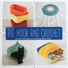 Crochet in Color: Big Hook Rag Crochet Give away
