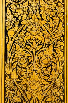 Stock image of 'Pattern of Thai Design'