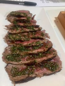 Hanger Steak, Salsa Verde, Fajitas, Grilling, Beef, Cooking, Ethnic Recipes, Food, Entertaining