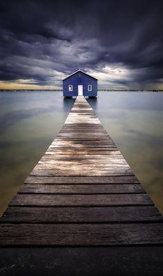 Little Blue - Blue Boatshed, Perth, Australia