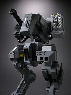 Legos + Mechs = Awesome: