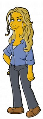Juliet - Simpsonized, by Dean at Springfield Punx