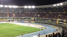 Hellas Verona-Genoa, i cori dei veronesi