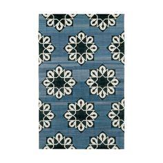 Indigo Samosa Cotton Carpet