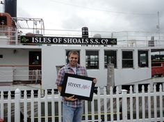 """""""What I love about Portsmouth is the fantastic night life, the awesome restaurants, and of course the great community that surrounds it!""""  Rich Ryzman,   Marketing Manager at the Isles of Shoals Steamship Company."""