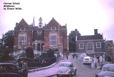 Harrow School, Harrow, Middlesex (photographed in the 1960s)