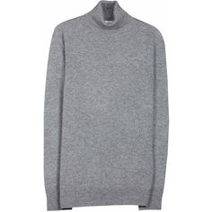Women's Oscar Turtleneck Cashmere Sweater Made Of Cashmere Women's... (€300) ❤ liked on Polyvore featuring tops, sweaters, heather grey, turtle neck sweater, polo neck sweater, cashmere turtleneck sweater, cashmere turtleneck and polo neck top