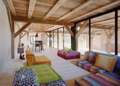 Thomas Kroeger Architekt, Germany, green renovation, barn renovation, timber architecture, wooden structure, skylight, holiday home, country house, Berlin, Uckermark Lanhaus