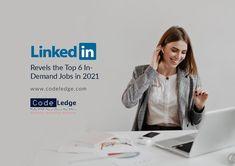 LinkedIn data revels the top 6 in-demand jobs in 2021 and the most important skills needed for each position. #LinkedIn #LinkedInMarketing #MarketingStrategy #DigitalMarketing #SocialMedia #SocialMediaMarketing #MarketingSweden #MarketingTips #CodeLedge #vaxjo #växjö #växjökommun #vaxjokommun #vaxjocity #växjöcity #sweden Social Media Marketing, Digital Marketing, Coding, Sweden, Tops, Programming