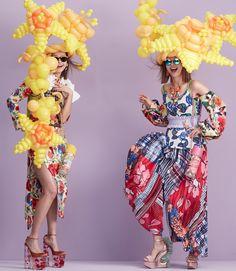 Mad Hatter: 11 avant-garde bonnets for Easter | HUNGER TV Mary Mccartney, Miles Aldridge, Greg Kadel, Hunger Magazine, Pamela Hanson, Contemporary Photographers, Race Day, Fashion Story, Flower Fashion