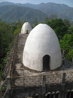 "Whatever happened to the ""Beatles ashram"" in Rishikesh? Rishikesh Ashram, Oh The Places You'll Go, Places To Visit, Maharishi Mahesh Yogi, North India, The Beatles, Zen, Journey, Earth"