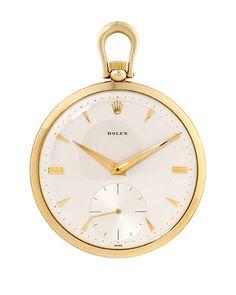 Rolex 1950s Pocket Watch