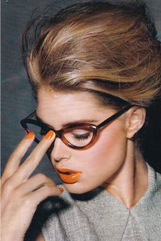 This frame is identical to Robert Roope's Black Eyewear Cats Eye Glasses Peggy LT and Anita LT.  Absolutely gorgeous!