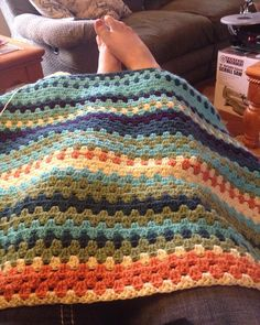 Updated temperature blanket!! I am totally in love with it!! It's so long!! #temperatureblanket #temperatureblanket2016 #temperatureblanketcrochetalong #grannystripe #grannystripeblanket #crochet #crochetlove #ilty #ilovethisyarn #ilovecrochet #crochetblanket #yarn #yarnblanket #yarnlove by taushanicole322