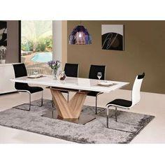 Masă extensibilă Alameda vintage - mobilier de o calitate unica pentru sufragerie, cu linii elegante si moderne. #mese #meseliving #DecoStores #amenajariinterioare #homedecor #tables #livingroomtables #livingroom #vintage #vintagetables #mesevintage