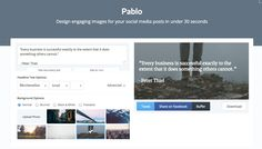 Pablo by Buffer - Design engaging images for your social media posts in under 30 seconds Social Web, Social Media, 30 Seconds, Journalism, Something To Do, Ads, Posts, Pictures, Image