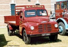Austin Loadstar. Jeffrey. Jeffrey has a fleet of preserved vehicles and this Austin was produced in 1950. Austin became part of BMC, then British Leyland and eventually the name was dropped. This truck was seen at Gaydon in 2004. Len Rogers European Truck Pictures Page 10