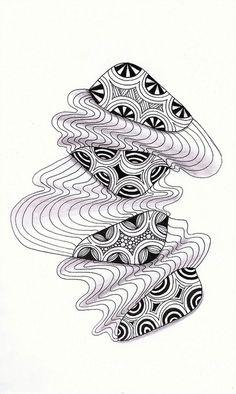 Zentangle Inspired Art by linda