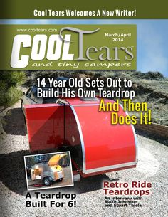 A magazine covering teardrop trailers, canned hams, and other small camping trailers.