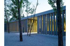 Besuchergebäude KZ Gedenkstätte Dachau