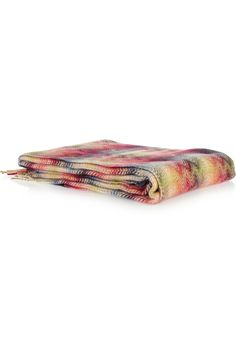 the real thing. missoni home blanket.