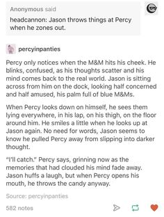 Ik Jason's gone now but my mind just seems to refuse to accept that shit. Its like im unable yo absorb the fact that it actually happened, that he's GONE. Don't remind us Percy Jackson Head Canon, Percy Jackson Fan Art, Percy Jackson Memes, Percy Jackson Books, Percy Jackson Fandom, Rick Riordan Series, Rick Riordan Books, Magnus Chase, Solangelo