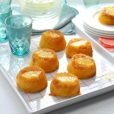 Pineapple Upside-Down Muffin Cakes Recipe Diabetic Friendly Desserts, Diabetic Recipes, Diabetic Snacks, Health Recipes, Muffin Cake Recipe, Cake Recipes, Dessert Recipes, Bread Recipes, Appetizer Recipes