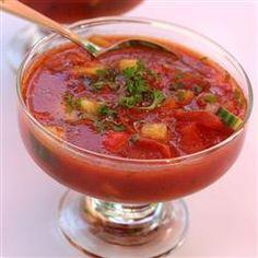 Easy Summer Gazpacho Allrecipes.com