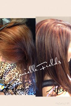 Highlight & Lowlight. Wella hair color.  https://www.facebook.com/pages/Danielle-Prater-Fields-at-Salon-Lofts-Tylersville/584674068217778