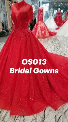 Bridal Gowns, Wedding Gowns, Red Quinceanera Dresses, Kim Joon, Ball Gowns, Formal Dresses, Clothing, Fashion, Haute Couture