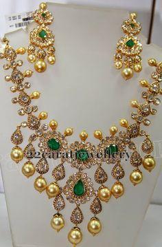 Filigree Work Polki Set   Jewellery Designs
