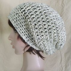 Super Slouch Beanie in Oatmeal by HiJinx on Etsy, $19.00