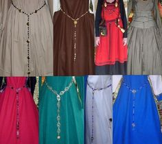 SCA Garb Jewelry Renaissance Medieval Drop by CamelotsClosets prices vary