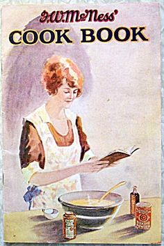 McNess  Cook Book 1920's. Click on the image for more information.