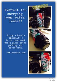 Bring A Bottle Thermal for camera lenses