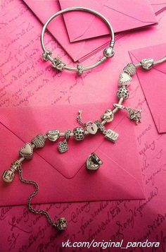 """""""YOU LOVE THAT HE LOVES YOU. NOW LOVE WHAT HE GIVES YOU."""" Pandora 2014 charms- valentine's day collection."""