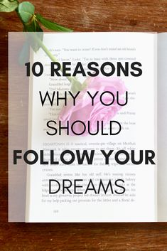 10 reasons why it's important to follow your dreams | She Who Travels #lifestyle #motivation #inspirationalquotes #lifeadvice
